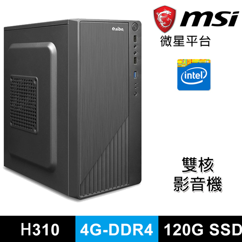 微星Intel G4900 雙核 小資影音機