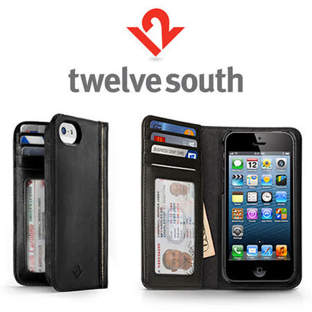 美國Twelve South BookBook多功能iphone5復古書皮套