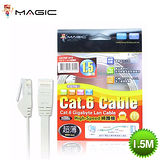 MAGIC 鴻象 Cat6 Hight-Speed 1.4mm 高速超薄網路線/扁線 - 1.5M (CAT6F-015)