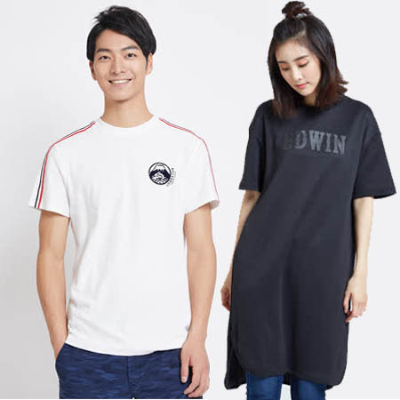 EDWIN 週慶限定 男女精選T恤