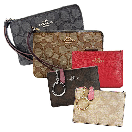 COACH (任選) 零錢卡夾/手拿包