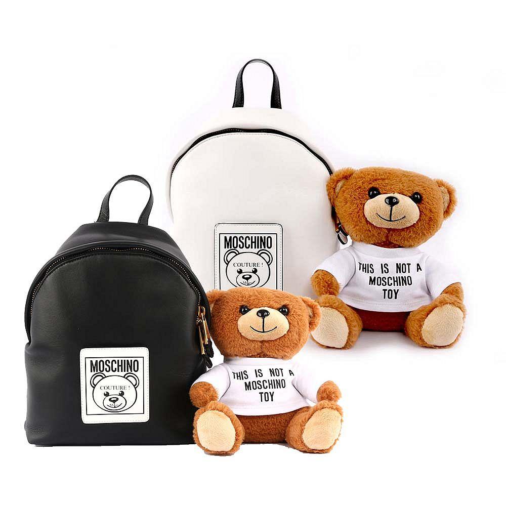 MOSCHINO 可拆式泰迪熊後背包