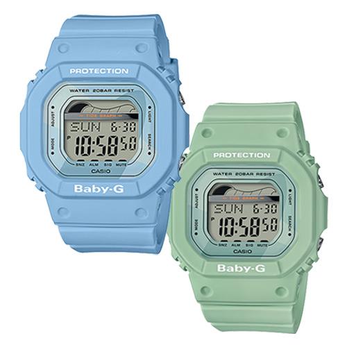 CASIO BABY-G  轟浪女孩運動腕錶