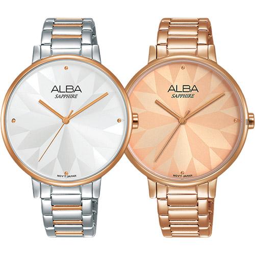 ALBA雅柏 時尚幾何造型女錶