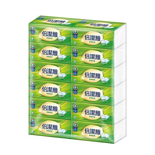倍潔雅超質感 衛生紙100抽x96包